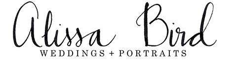 Alissa Bird Weddings + Portraits logo